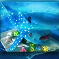 """lets Find Dory"" Cpc Cake Collaboration Whale shark with Dory"