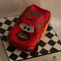 Lightning Mcqueen Carved cake is a challenge every time…but everytime I seem to learn something new!