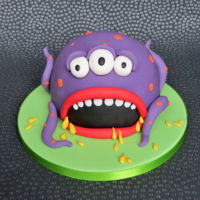 Monster Cake Fun cake from my son's to their dad