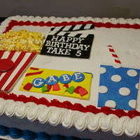 Movie Theme Birthday Cake Movie Theme Birthday Cake