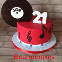 Music Lovers Cake   Chocolate biscuit cake