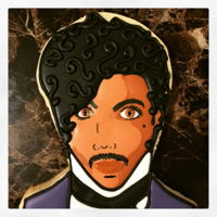 Prince Cookie Sugar cookie with royal icing (Chef Master gels)