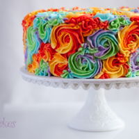 Rainbow Swirl Birthday Cake By 2Bi Cakes Rainbow swirl birthday cake by 2bi Cakes. facebook.com/2biCakes