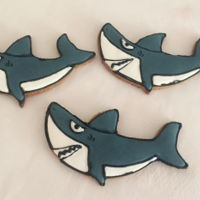 Shark Cookies   Tutorial is at