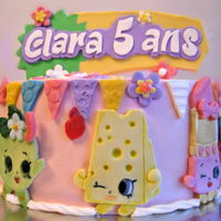 Shopkins Cake birthday cake