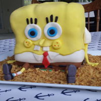 Sponge Bob And Patrick Birthday cake for Emma and Cooper