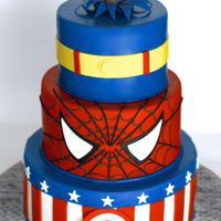 Superhero Birthday! 3 favorite Superheros for a special little boy's birthday party.
