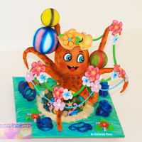 Tom The Octopus Tom is part of the Sweet Summer Collaboration hosted by Tartas Imposibles of Isabel Tamargo. I hope you like it!