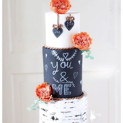 Birch Tree Weddingcake