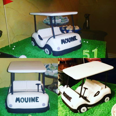 Pucci Cakes' Golf Theme