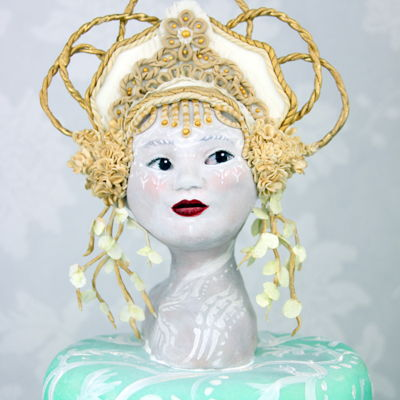 Royal Ascot Hats And Fashion Collaboration - Pale Faced Goddess.