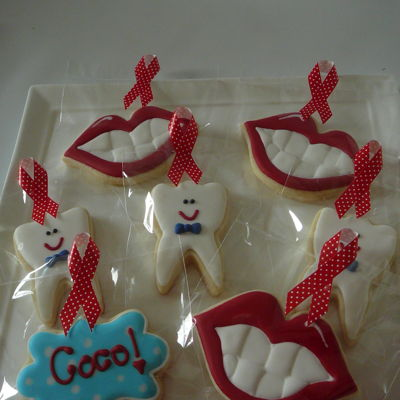 Tooth And Mouth Cookies