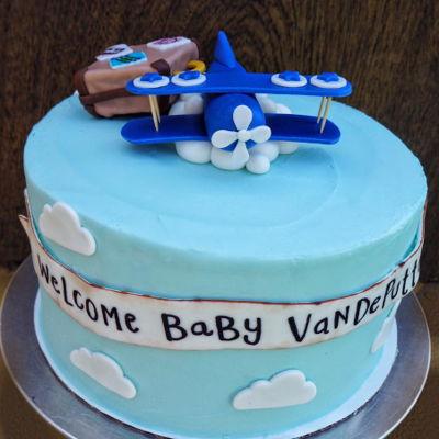 Airplane Cake Decorating Photos