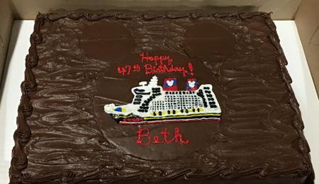 Cruise Cake Decorating Photos