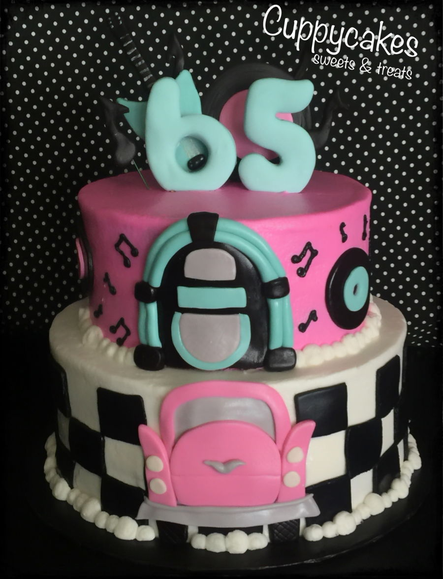 50s Themed Cake On Central