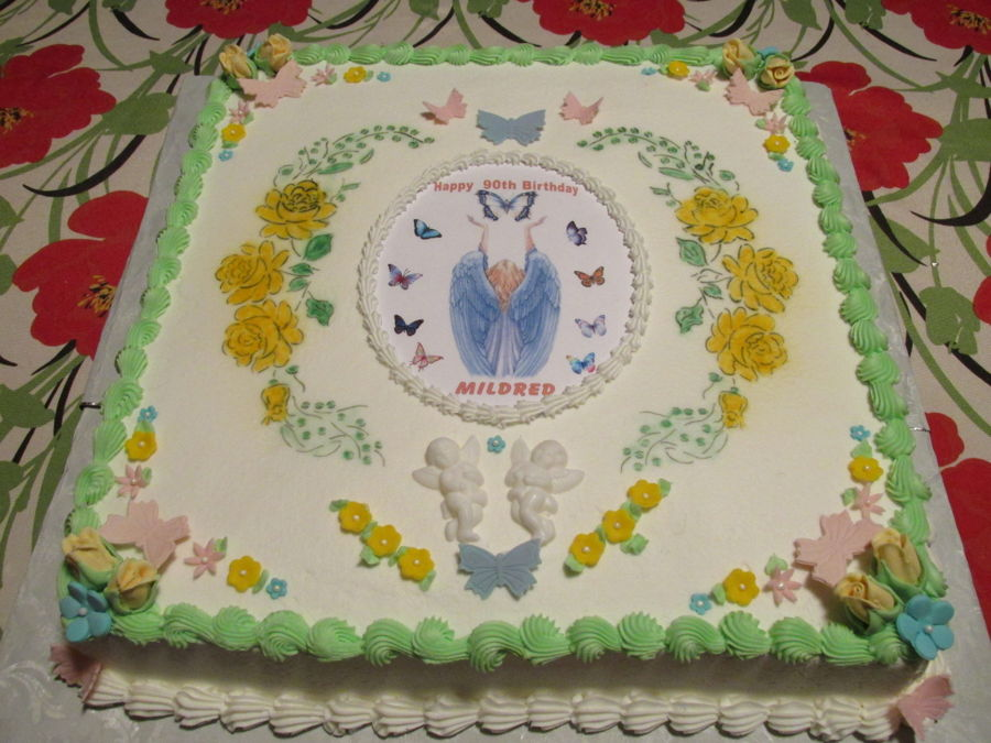 90Th Birthday Cake On Central