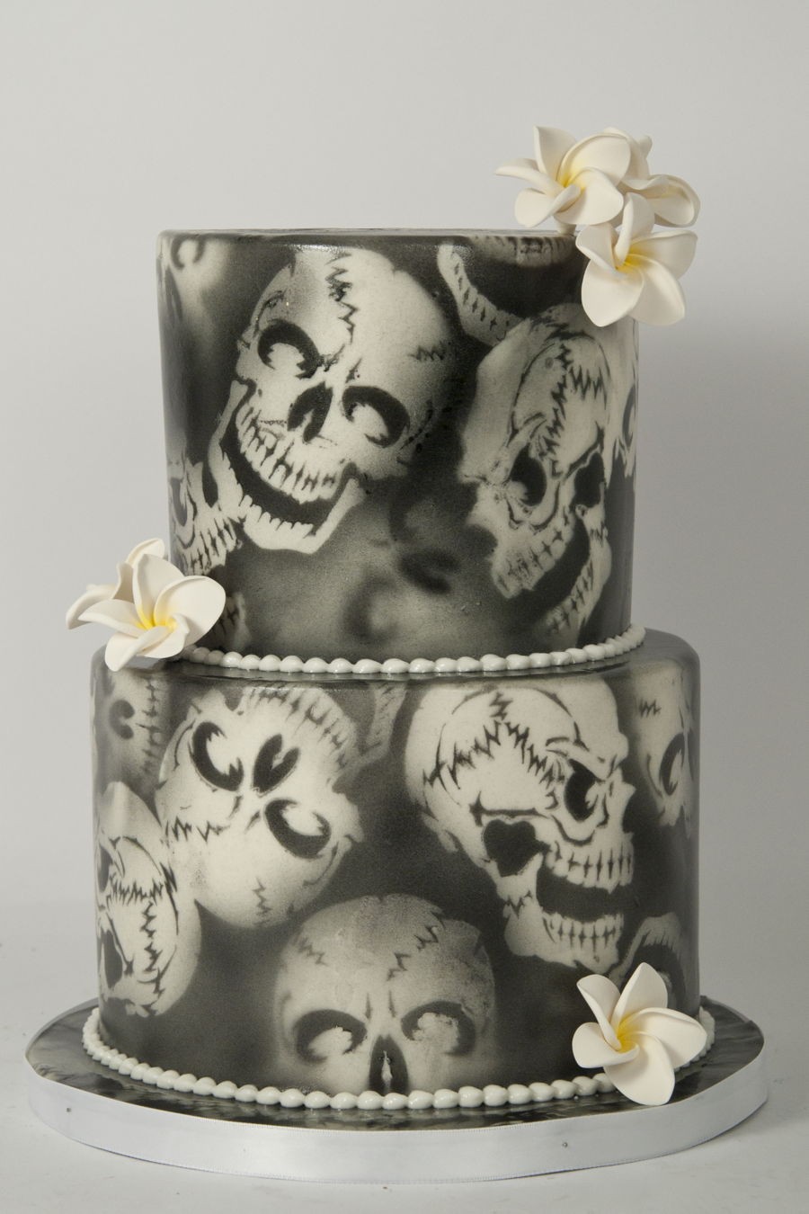 Air Brushed Skulls Cakecentral Com