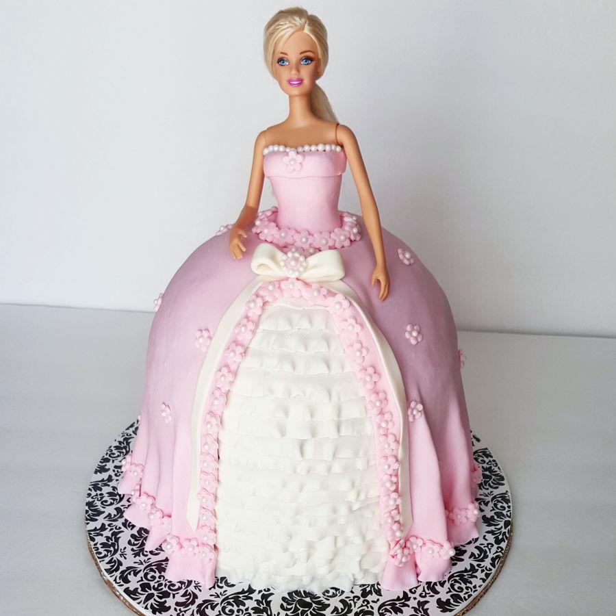 Barbie Doll Cake Cakecentral Com