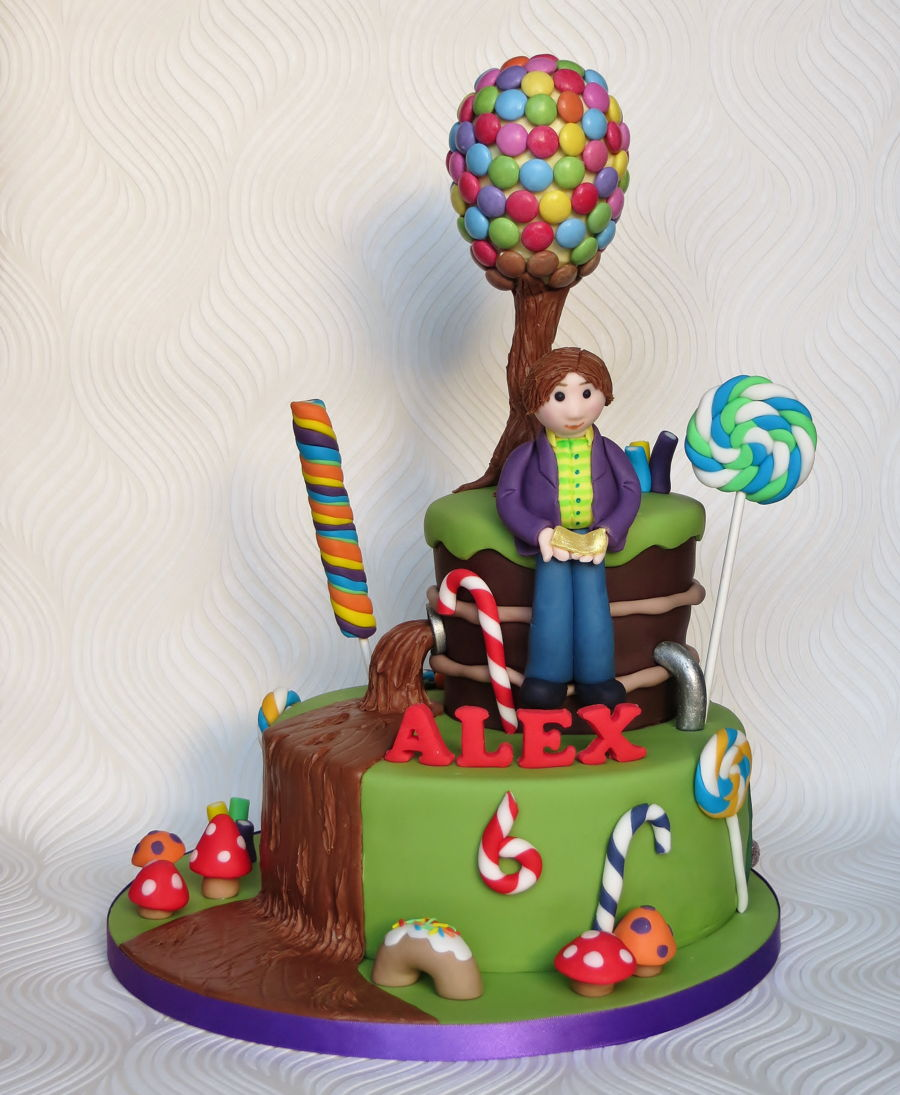 Charlie And The Chocolate Factory Cake Cakecentral Com