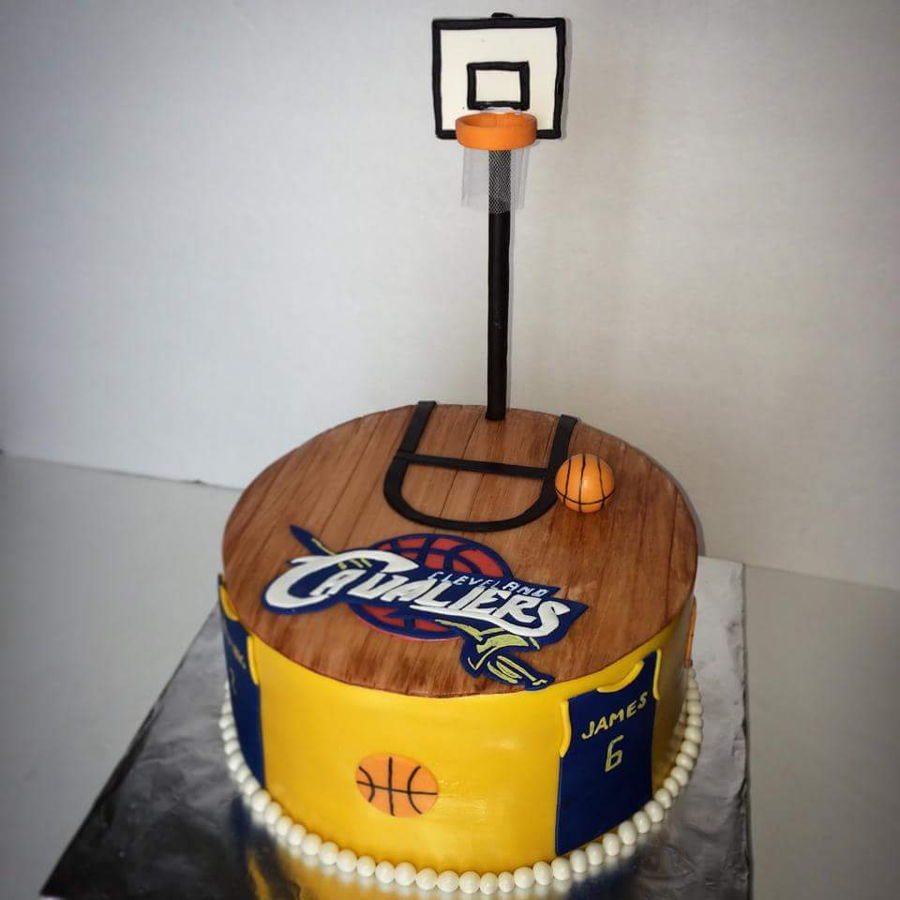 How To Make A Basketball Cake With Fondant