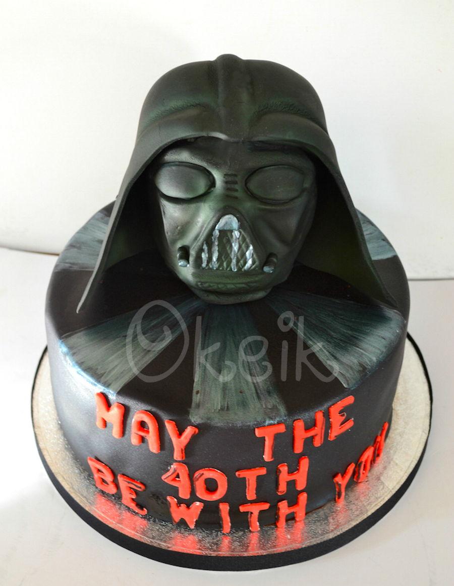 Darth Vader Birthday Cake Images Cake Recipe