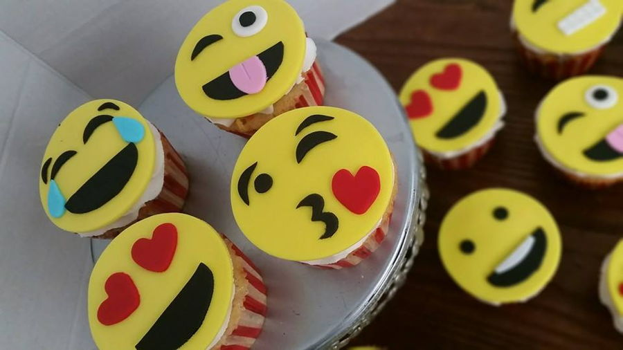 Emoji Cupcakes on Cake Central