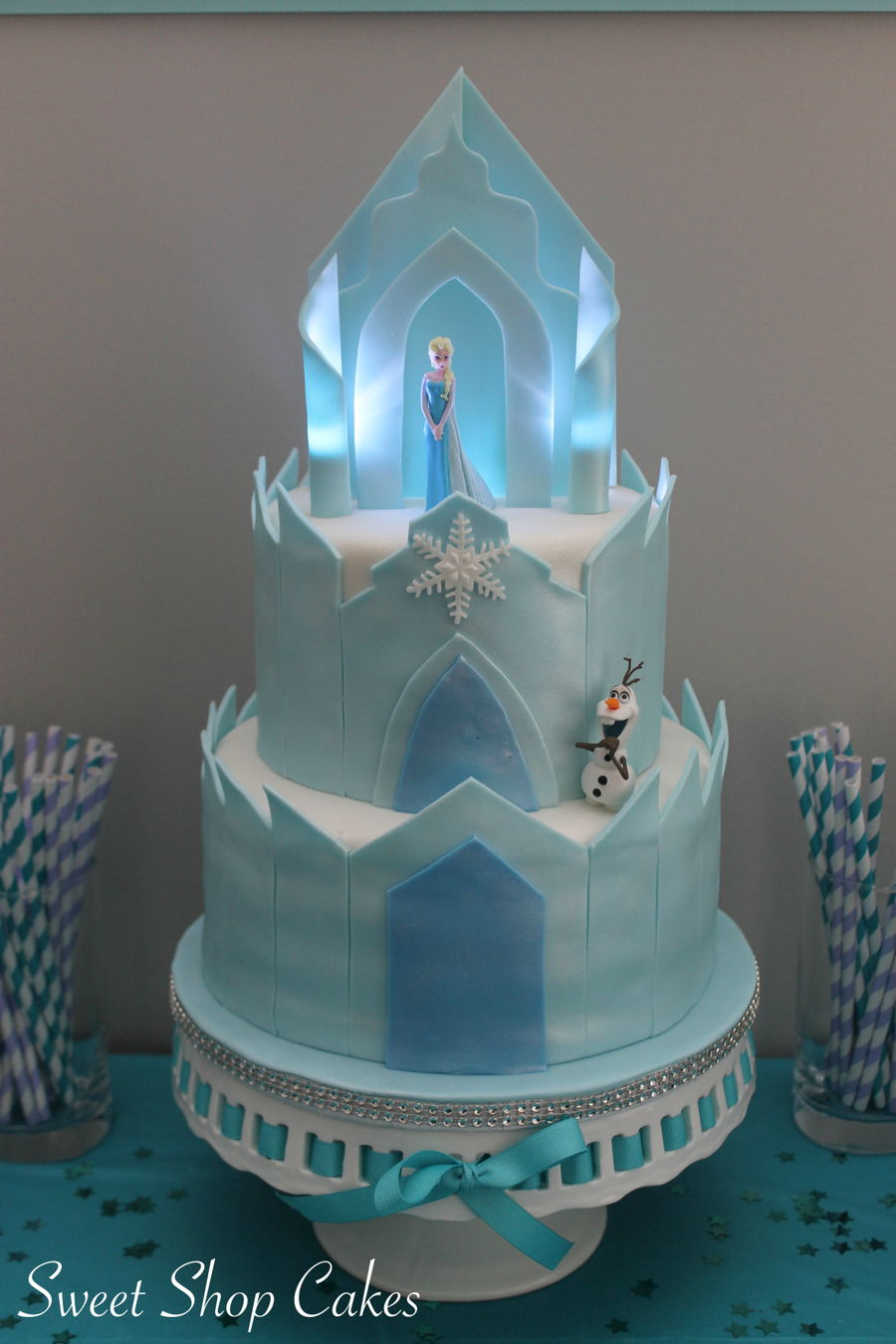 Frozen Castle Birthday Cake Cakecentral