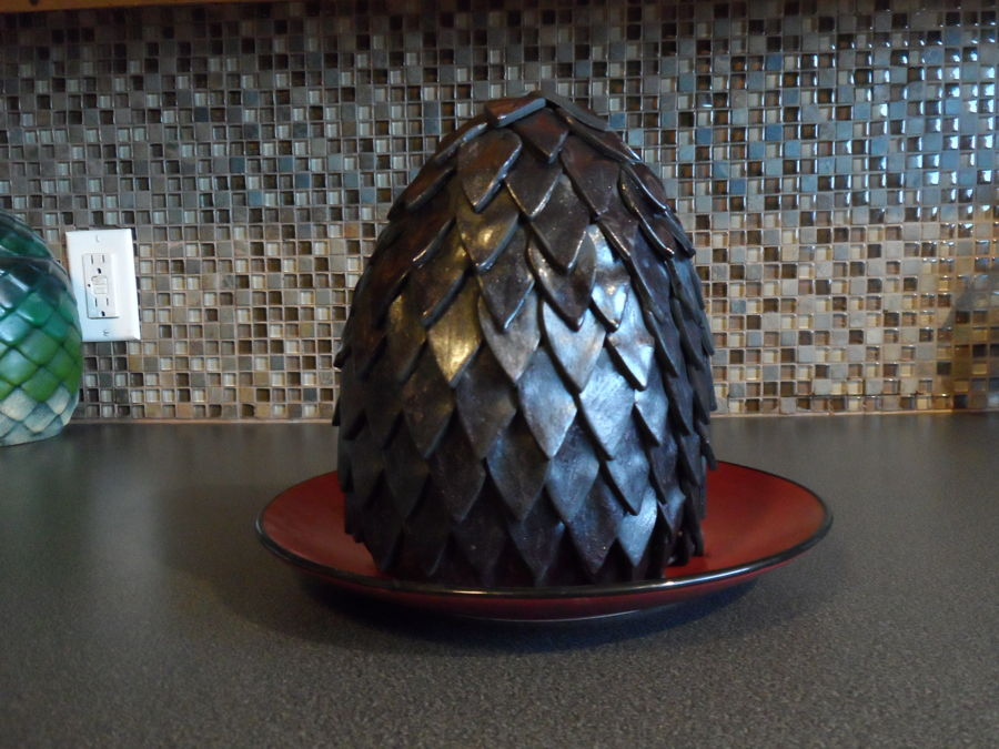 Game Of Thrones Large Dragon Egg Cake - CakeCentral.com
