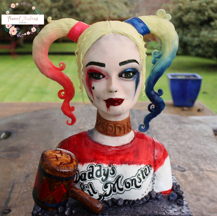 Suicide Squad Harley Quinn Cake