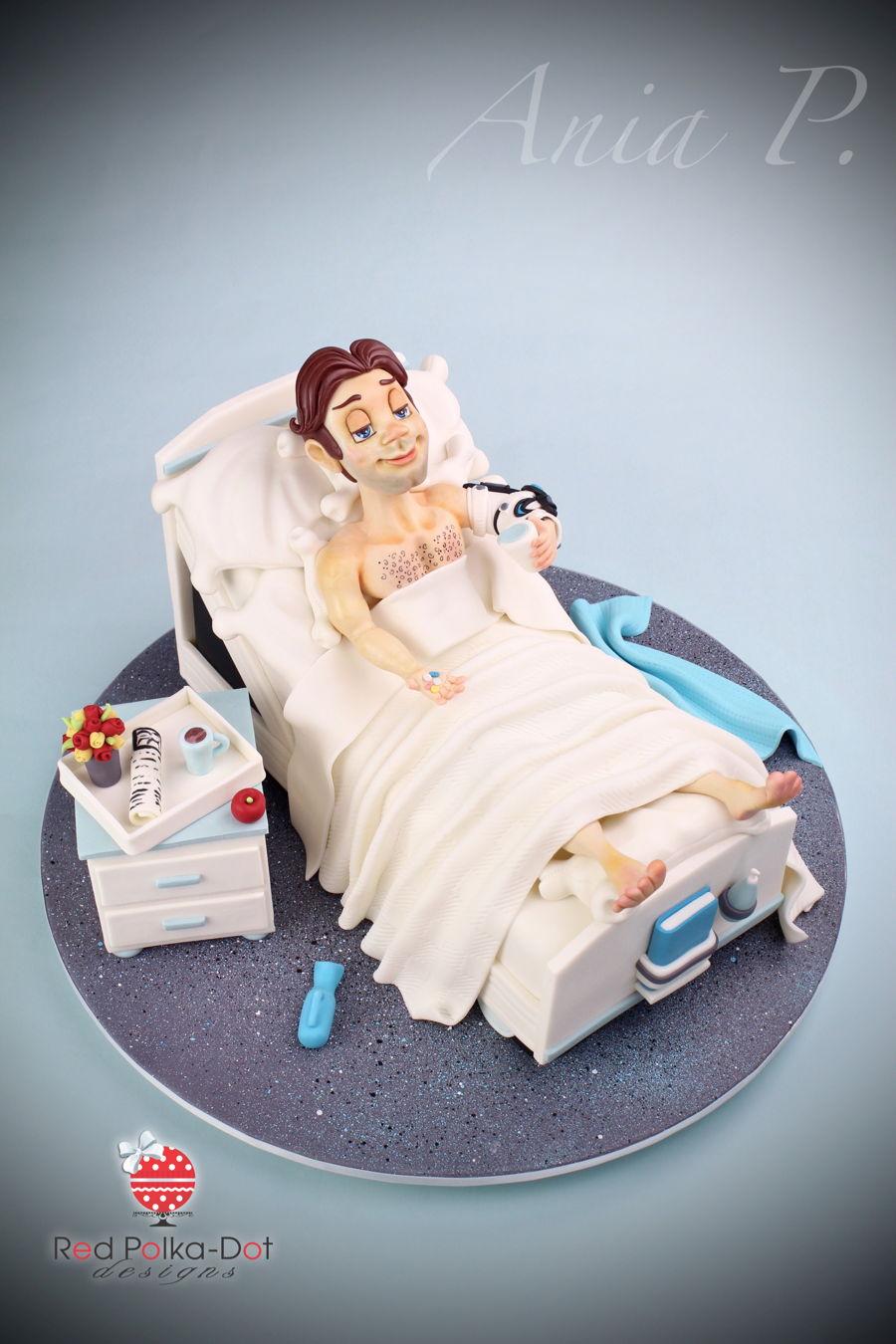 Hospital Bed Cake Cakecentral Com