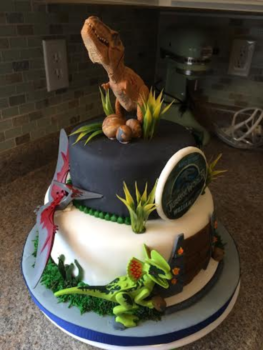 Image result for jurassic world cake