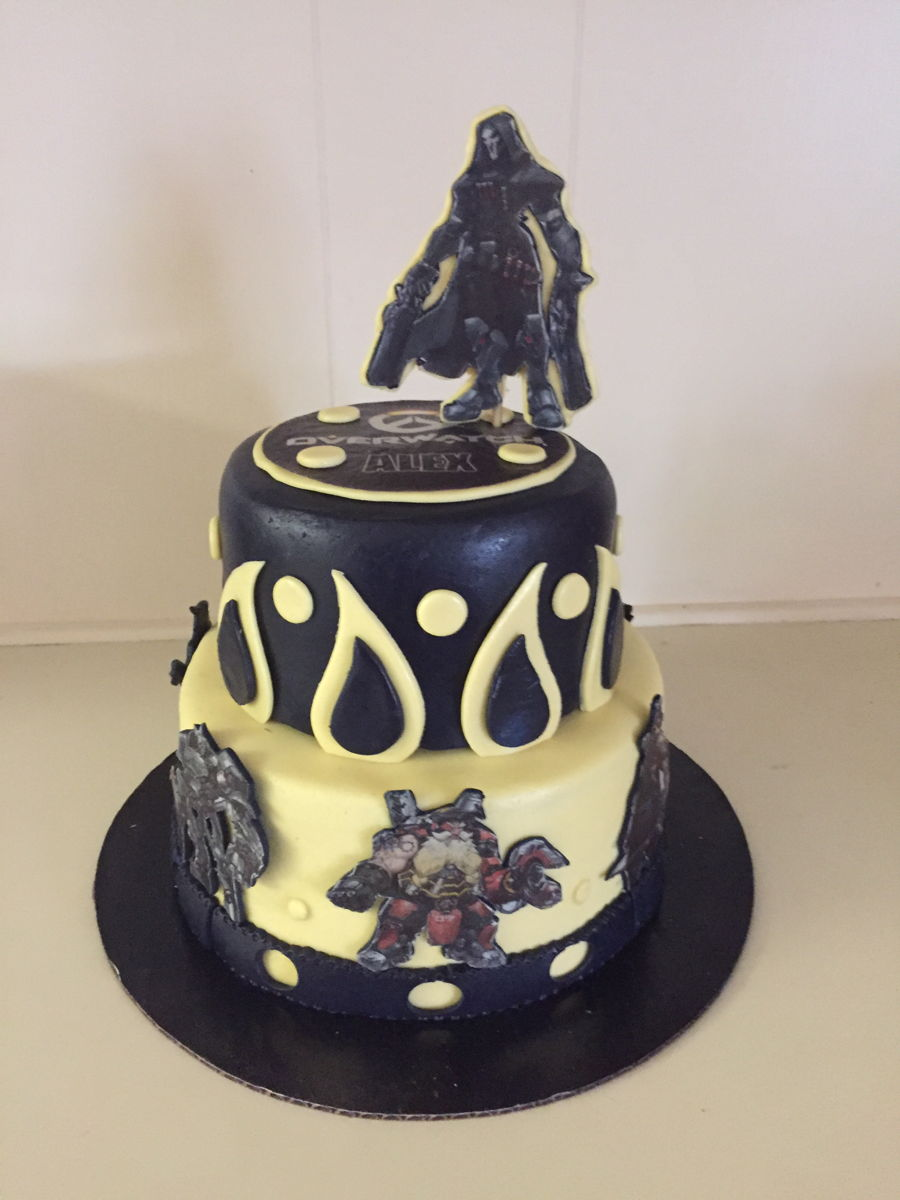 Overwatch Cake Cakecentral Com