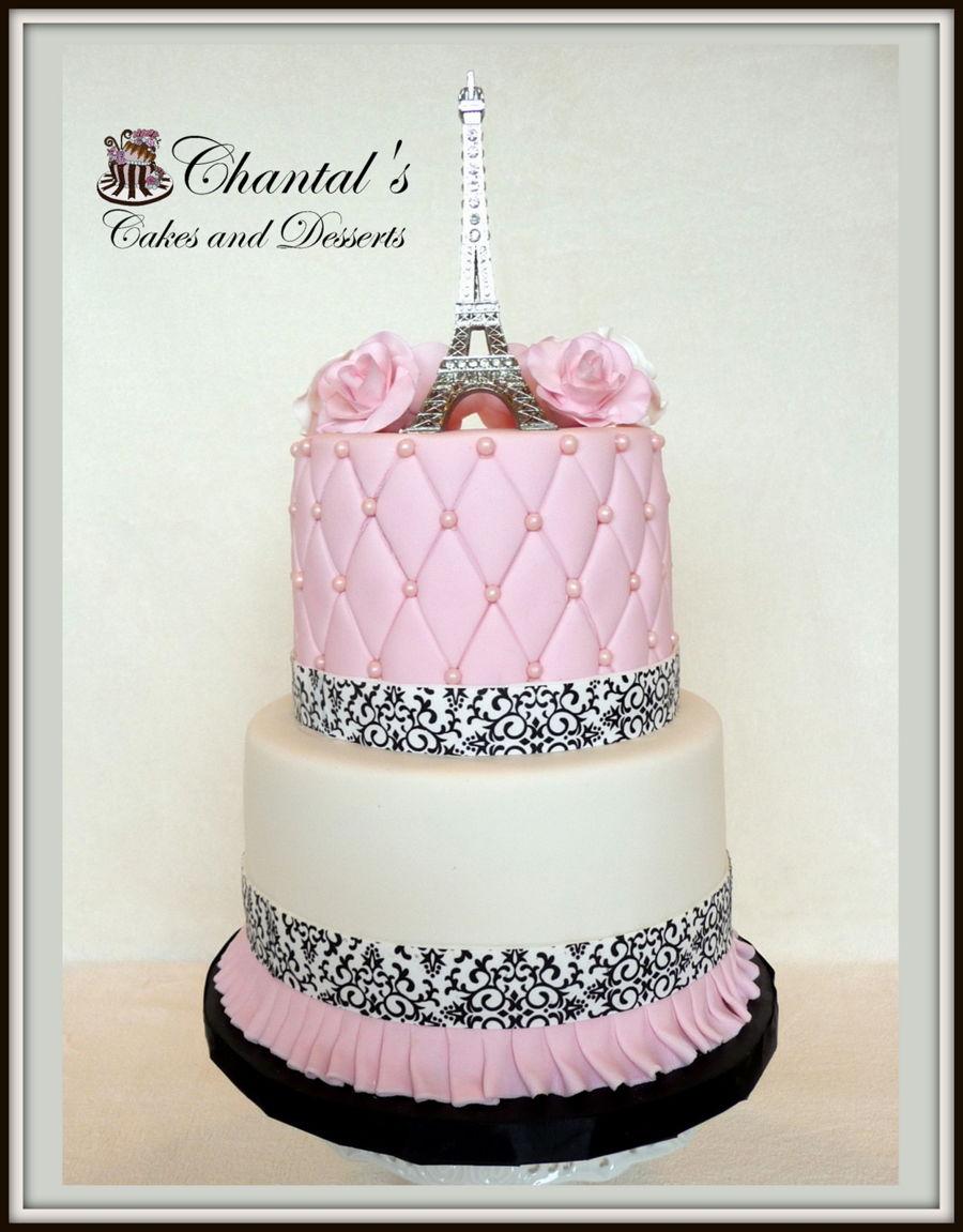Eiffel Tower Cake Recipe