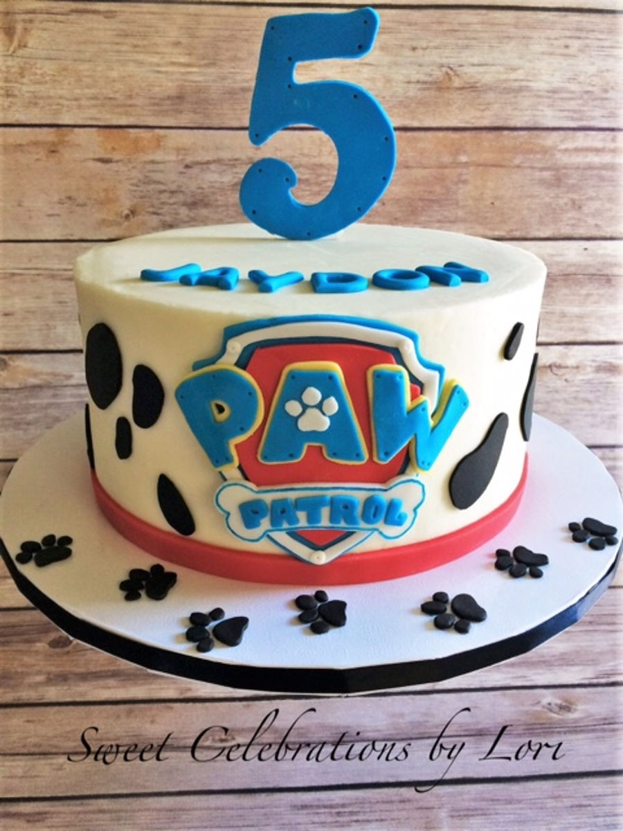 Images Of Paw Patrol Birthday Cake : Paw Patrol Fondant Cake www.imgkid.com - The Image Kid ...