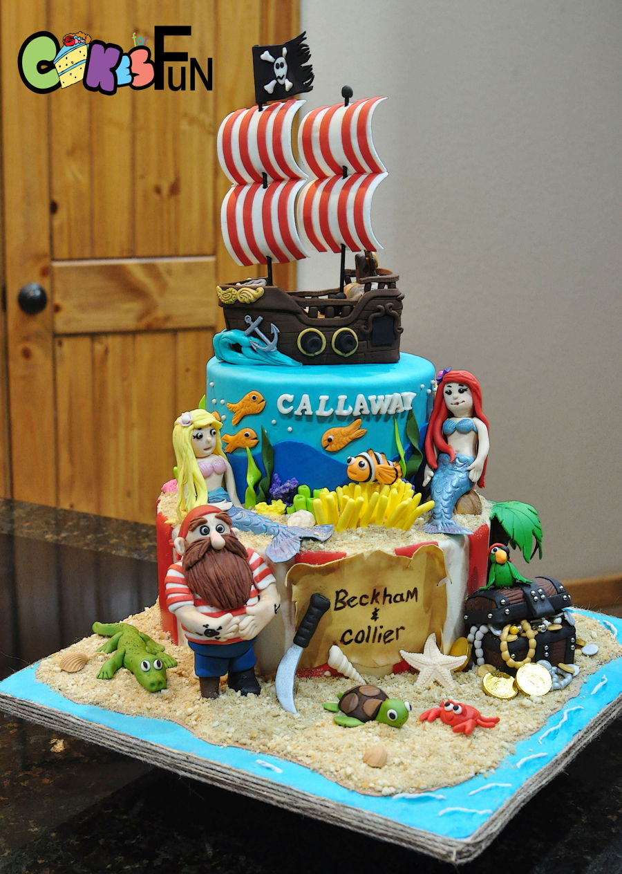 Pirates And Mermaids on Cake Central