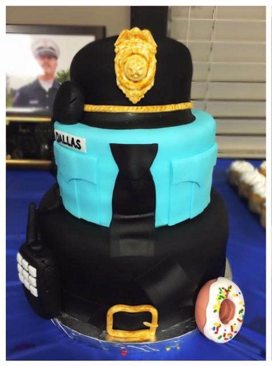 Policeman Retirement Cake Cakecentral Com