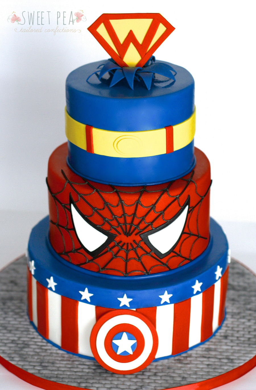 Superhero Birthday! on Cake Central