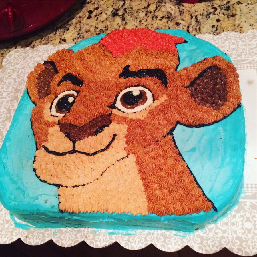 The Lion Guard Kion Cake on Cake Central