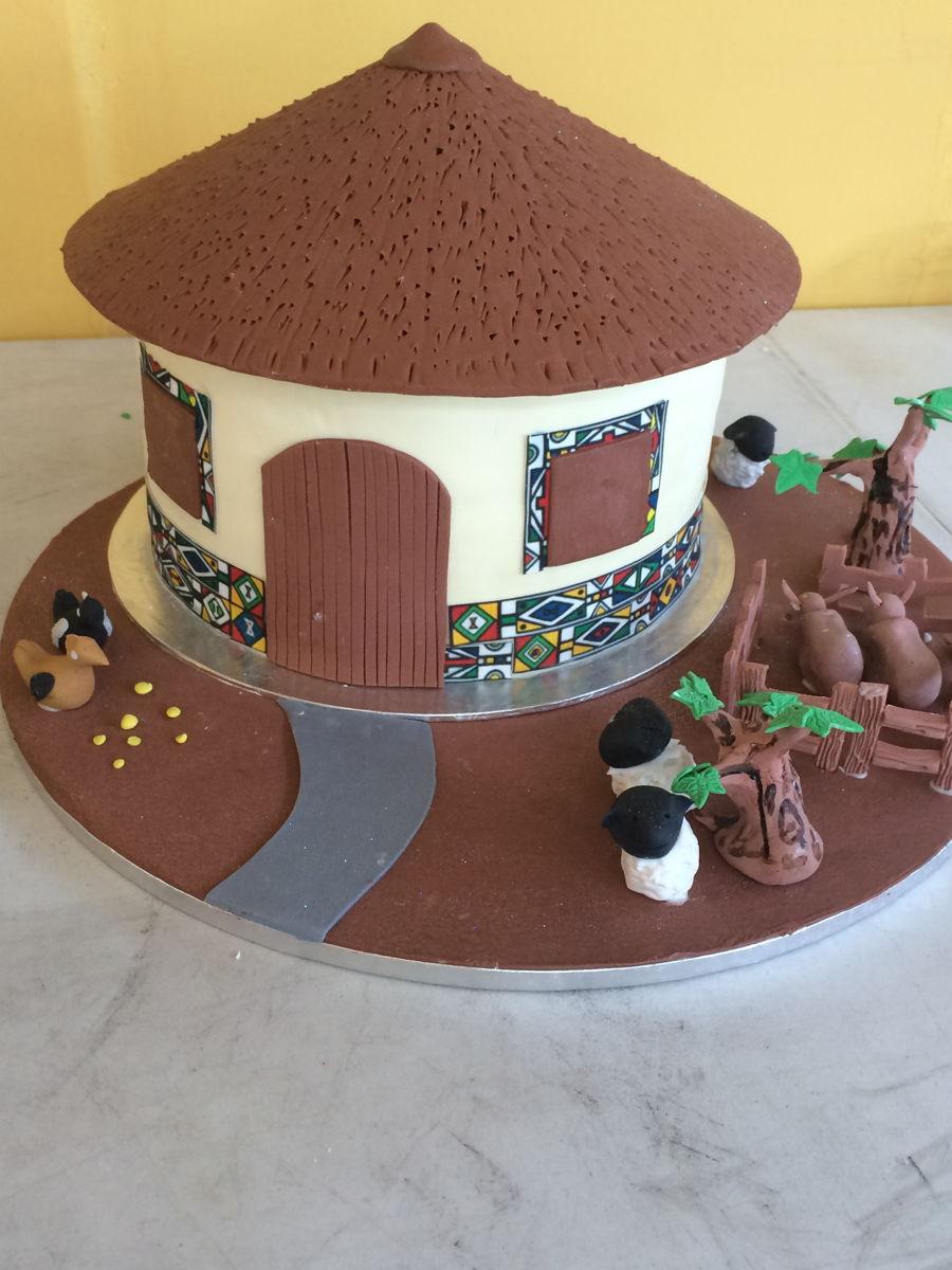 African Wedding Cake Recipe