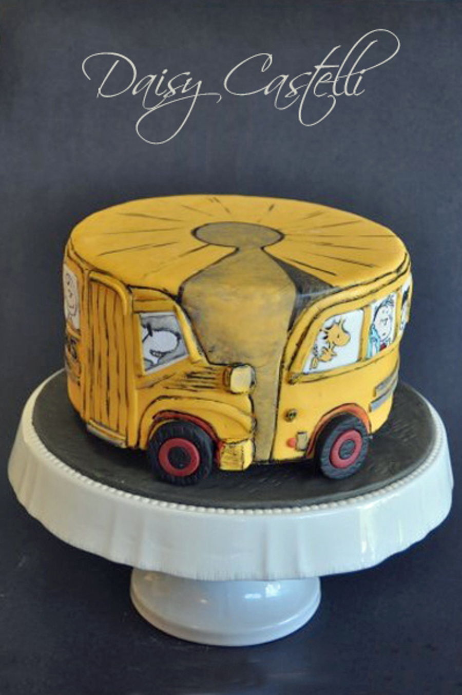 The Sugar Peanuts Gang Cake Collaboration - CakeCentral.com