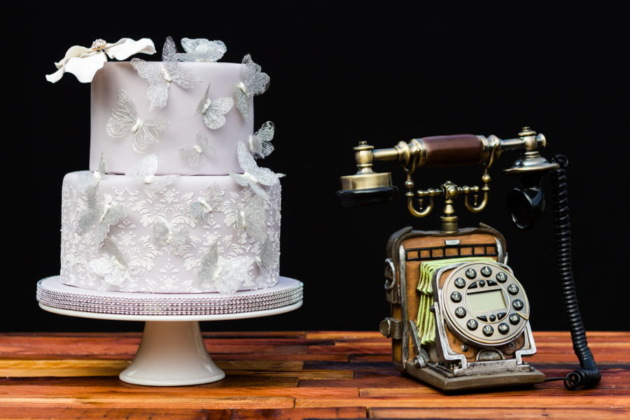 Western Style Wedding Cake - CakeCentral.com