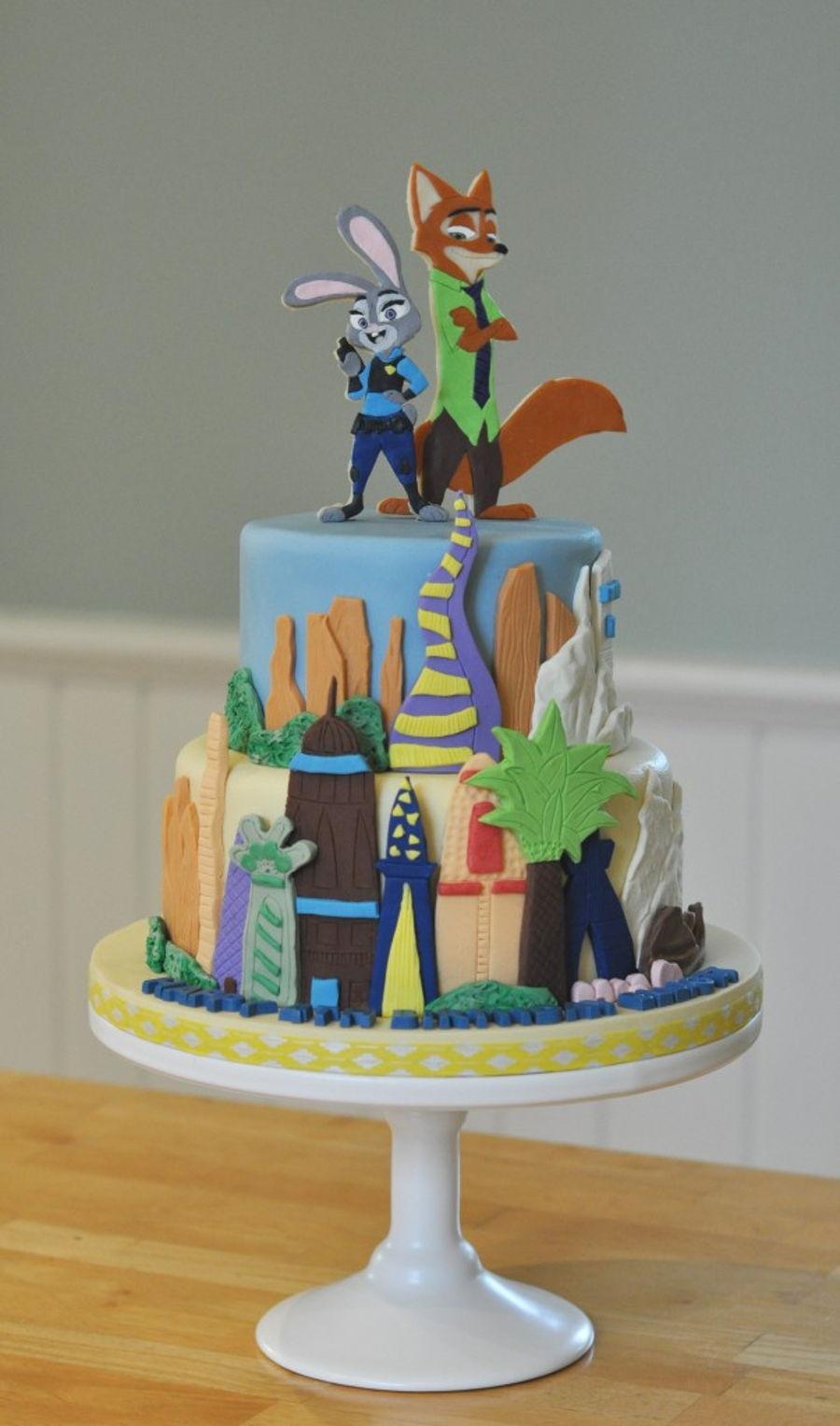 Zootopia Cakecentral Com