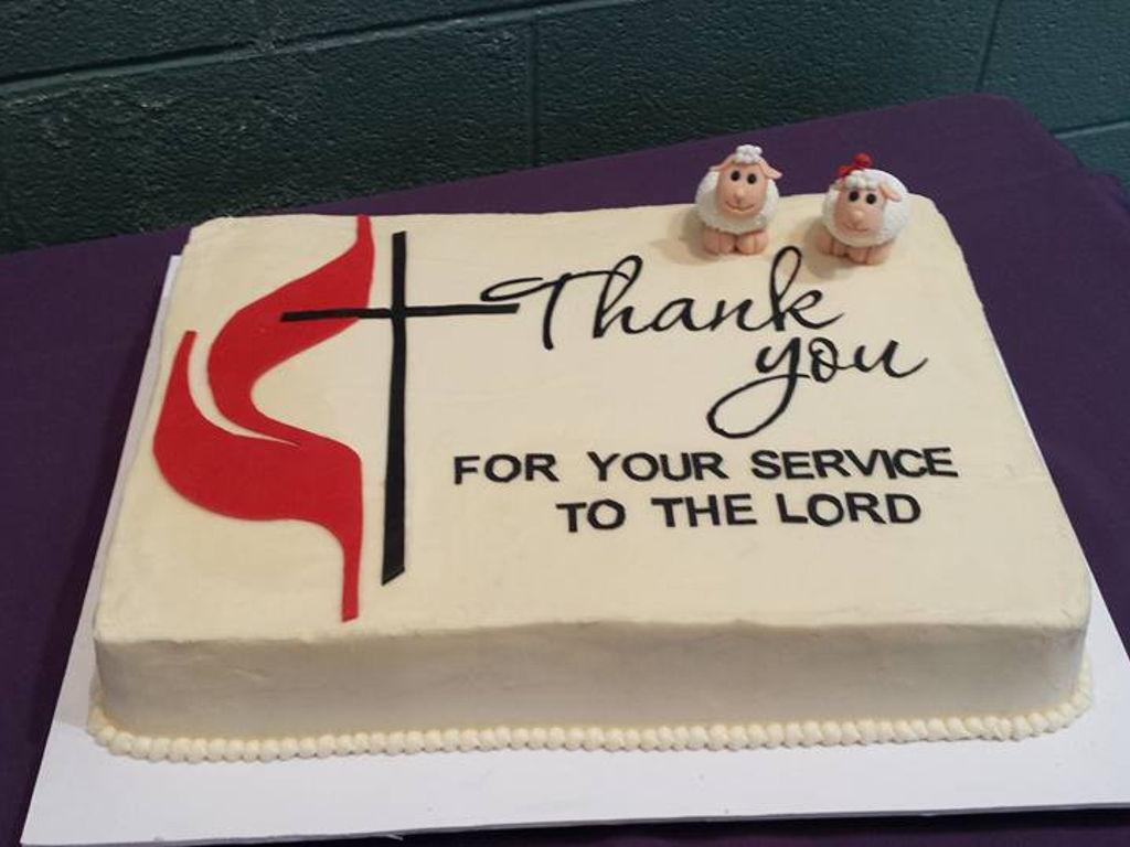 Pastor Retirement Cake Cakecentral