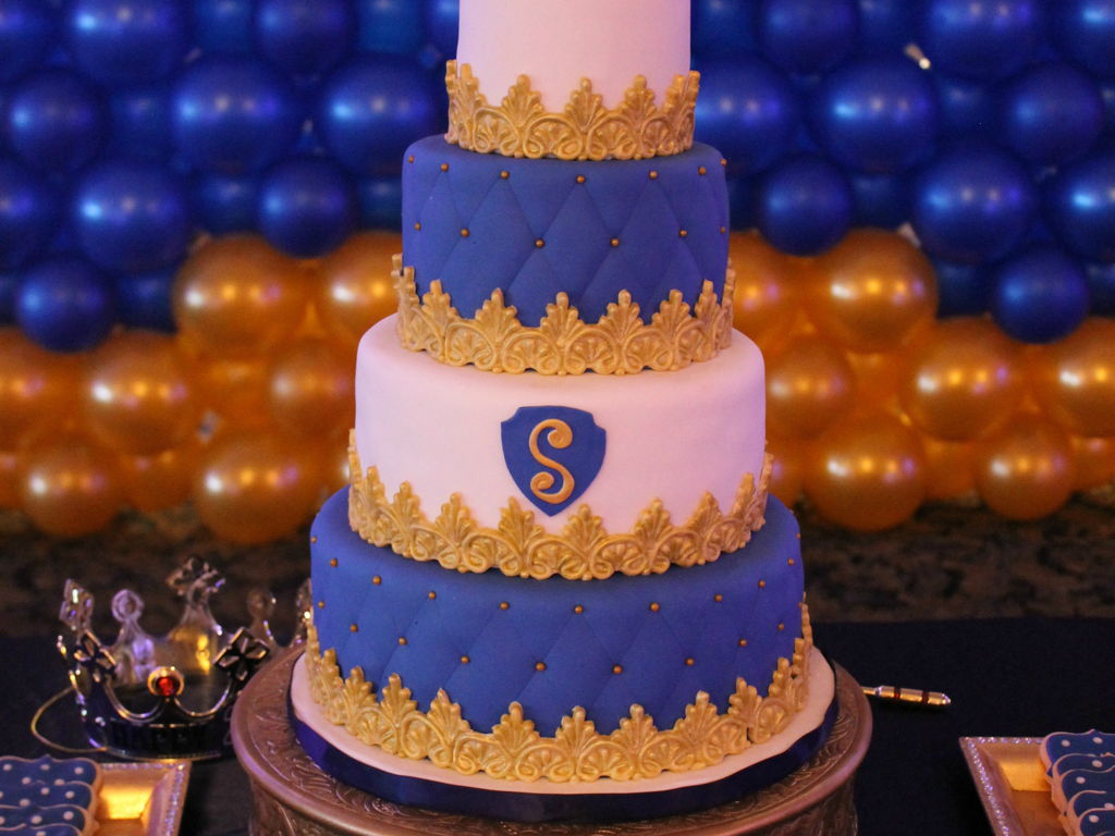 Royal Prince Birthday Cake CakeCentralcom