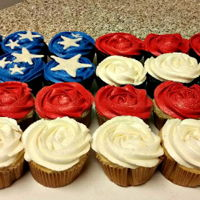 4Th Of July 4th of July cupcakes :)