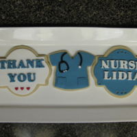 Appreciation Nurse Cookies   NSFC with fondant.