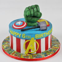 Avengers Cake Avengers cake. After the battle.