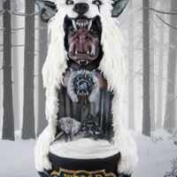 Cake Con Collaboration - World Of Warcraft -Durotan - The Untold Story This is the piece I, Adela, presented for Cake Con International which is a collaboration featuring 22 amazing artists who have created...