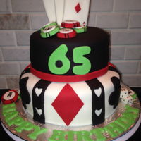 Casino Birthday Cake   Casino birthday cake