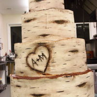 First Birch Bark Cake  This was my first attempt at a birch bark cake and I loved doing it way more than I thought I would. I was so nervous (as I usually am when...